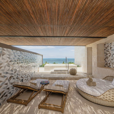 Rollizo Caribbean Stick - Hotel Atelier Playa Mujeres